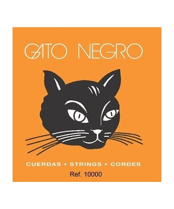 Juego de cuerdas para guitarra clásica Gato Negro