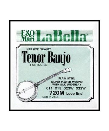 Cuerdas Banjo Tenor LaBella 720M