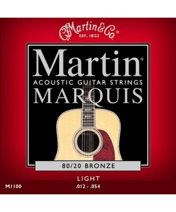 Juego cuerdas guitarra acústica. MARTIN M-1100