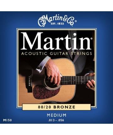 Juego cuerdas guitarra acústica. MARTIN M-150