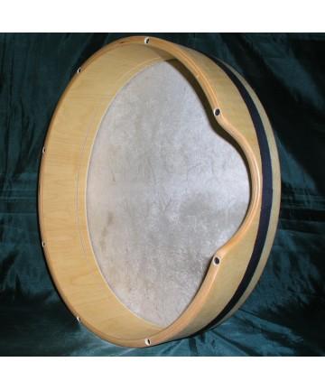 Pandero afinable parche piel 10cm de marco - x 44cm de diámetro