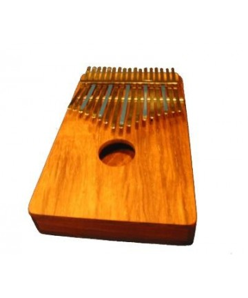 Kalimba Hugh Tracey Sol Mayor, 17 notas, con pickup