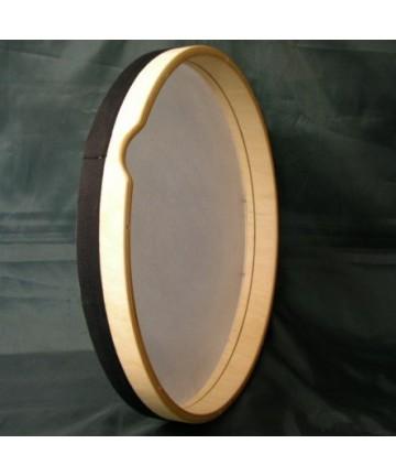 Pandero afinable parche sintético 6cm de marco - x 44cm de diámetro