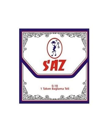 Sort neck Saz strings set 0.18/0.28