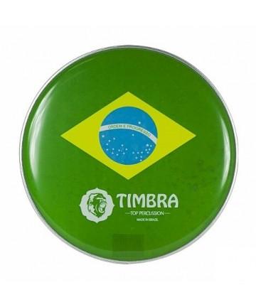 Parche 6'' supoer grueso P3 TIMBRA - bandera brasil