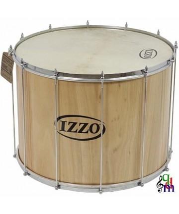 Surdo IZZO madera - 24X45cm 12 tensores - Peso: 5,94Kg - Parches de piel.