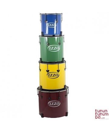 Surdo CASTLE IZZO - 14'x37cm. - Aluminio 6 tensores -  Peso: 2,47Kg.