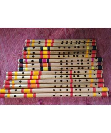 Flauta Bansuri Anand Dhotre - Re (La)-46cm