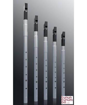 Nightingale whistle - High D tunable. Aluminium
