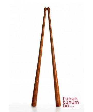 Baquetas de tamboril gallego - madera de koa