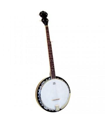 Banjo de 5 cuerdas Ashbury para zurdos