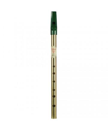 Waltons Irish whistle, brass - D