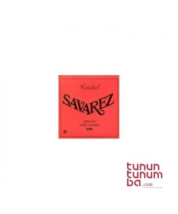 JGO.CUERDAS TIMPLE SAVAREZ / 590 /