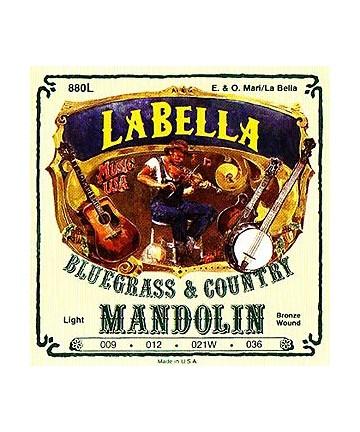 Cuerdas Labella para mandolina - finas