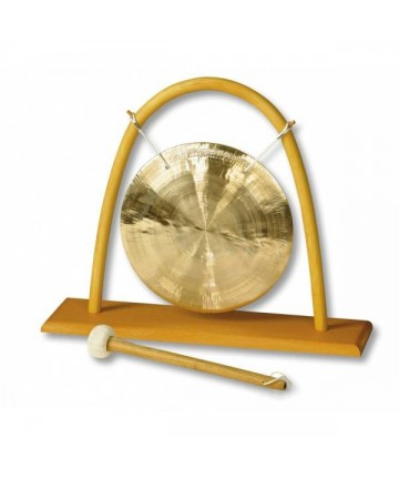 Soporte para gong de hasta 25cms.