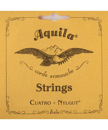 Juego cuerdas Aquila para Cuatro Venezolano