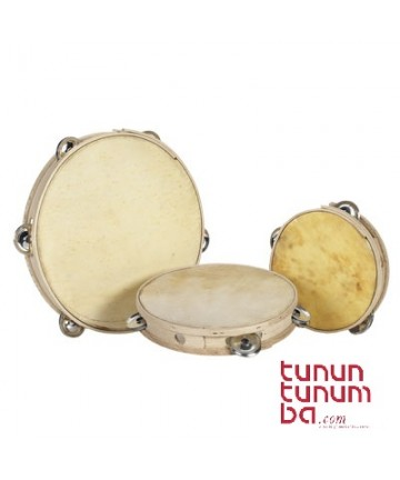 Castilian traditional tambourine - Ø 25cm simple