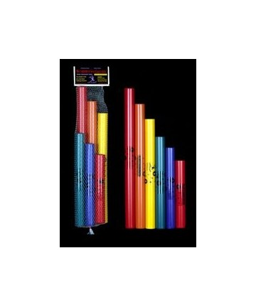 Boomwhackers 6 tubos, Do mayor pentatónico