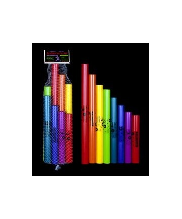 Boomwhackers 8 tubos, Do mayor diatónico
