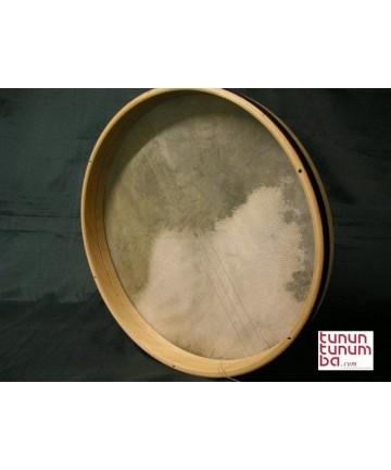 Bendir afilable parche piel -  5cm de marco  x 40cm de diámetro