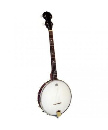 Banjo Tenor Blue Moon de caja abierta