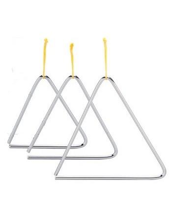 Triangulo de acero - 18cm.