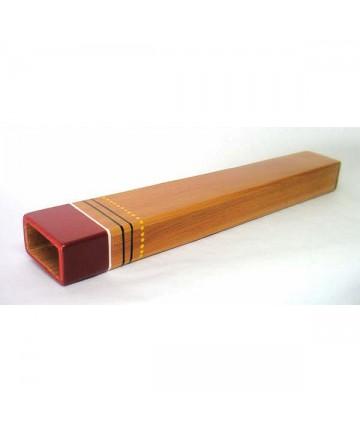 Didgeridoo de viaje - madera de cedro . NO DISPONIBLE.
