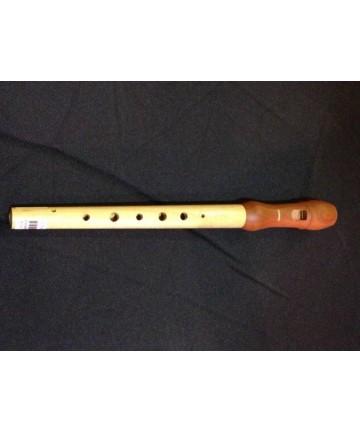 Flauta con digitación de gaita asturiana
