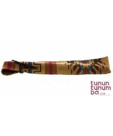 Funda de tela para flauta nativa pequeña