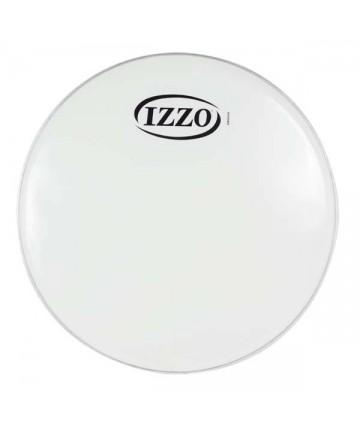 """Parche de nylon IZZO - 12"""" P3 blanco. Peso: 0,122Kg. - Repenique, caja, timba."""